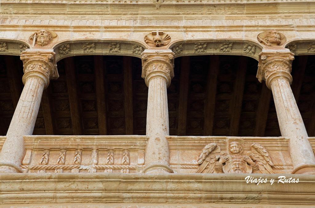 Claustro gótico de Santa M de la Huerta