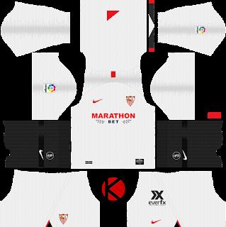 Sevilla FC 2019/2020 Kit - Dream League Soccer Kits