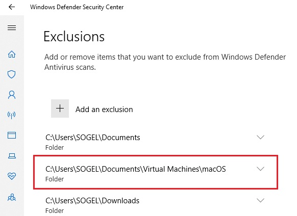 Mengecualikan Folder Di Windows Defender