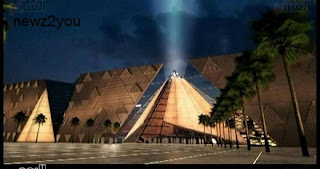 8 New information about the Grand Museum: It displays Tutankhamun's shawl, 5 meters long