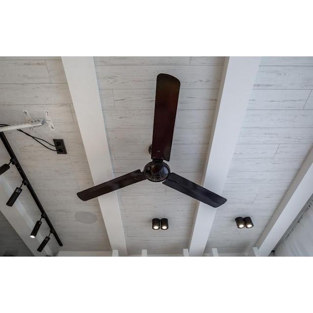 Вентилатор за таван с три лопатки