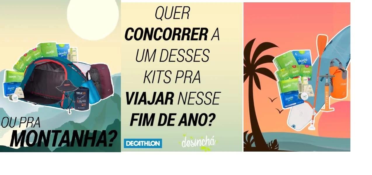 Promoção Decathlon Brasil 2019 Concorra Kits - Sou Praia Sou Montanha
