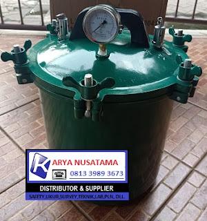 Jual Autoclave Non Elektrik Gas 16 liter di Jember