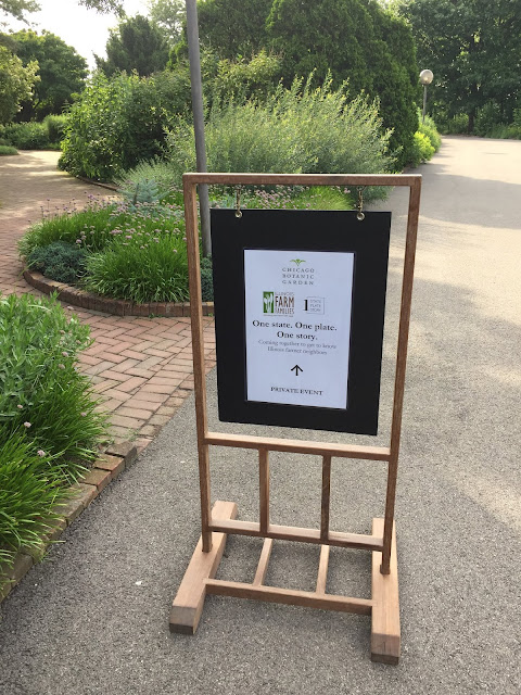 Heading to One State, One Plate, One Story at Chicago Botanic Garden