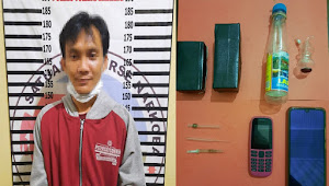 Polisi tangkap terduga penyalahgunaan Narkotika di Kelurahan Menggala Kota