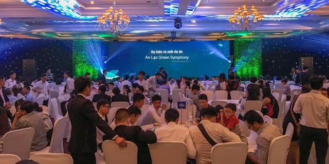 An Lạc Green Symphony thu hút sự quan tâm của đông đảo khách hàng