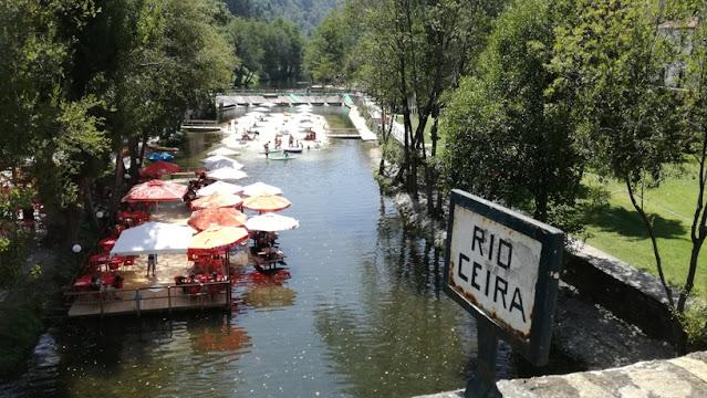 Rio Ceira em Góis
