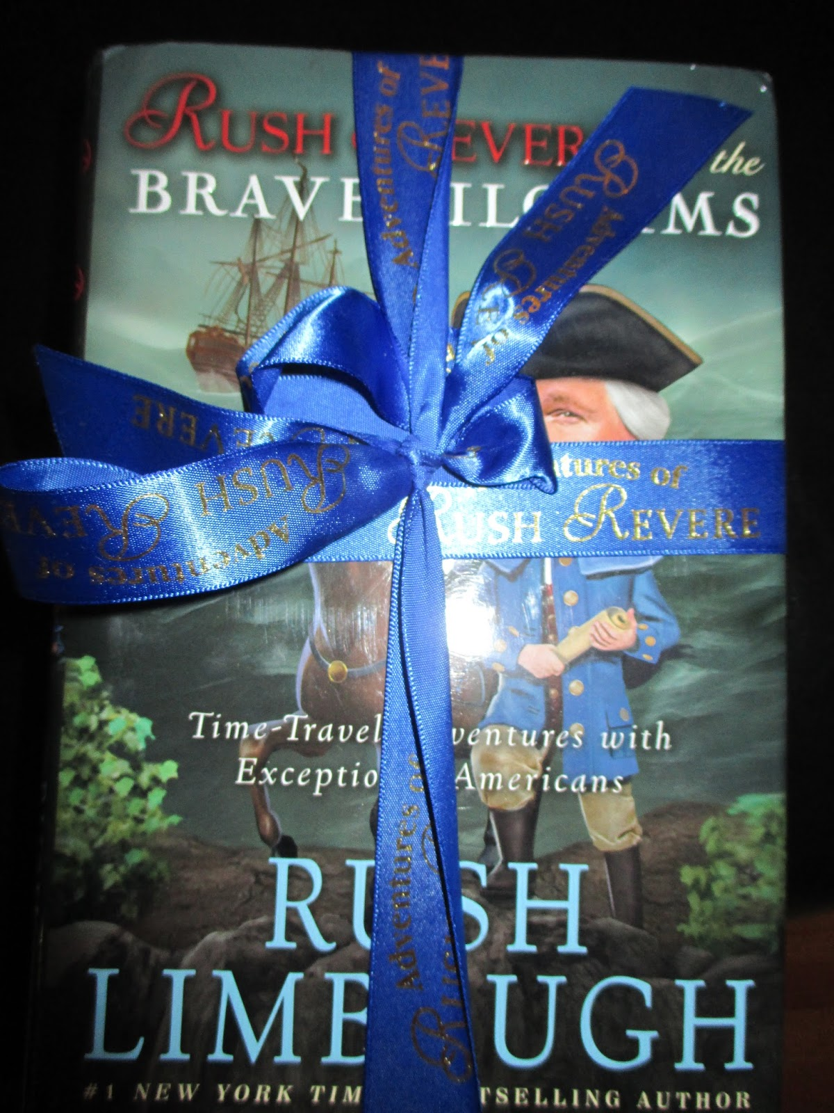 A Glimpse Of Normal A Review Of The Adventures Of Rush Revere Book Series From Adventures Of