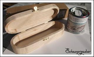 alte Holzbox, old vintage box