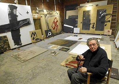 Sala De Aula Morre O Artista Antoni Tàpies