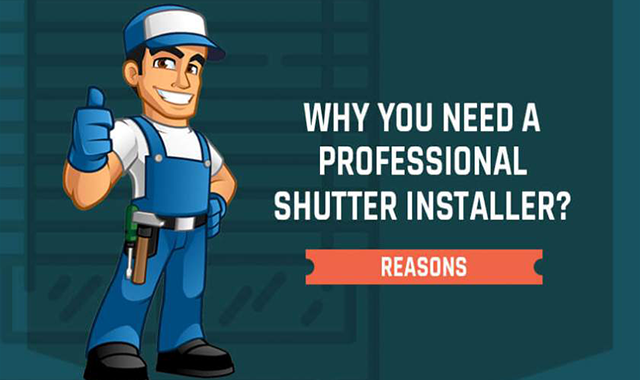 Why You Need a Professional Shutter Installer