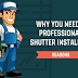 Why You Need a Professional Shutter Installer #infographic