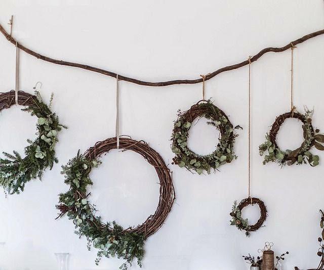 coronas de Navidad de Beth Kirby