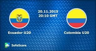 Ecuador U20 vs Colombia U20