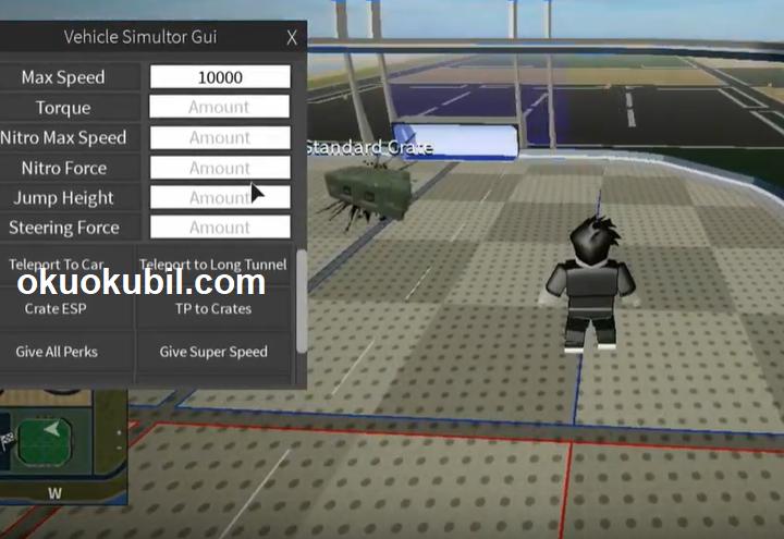 Roblox Vehicle Simulator Otomatik Çiftlik Yeni Gui Farm,Teleport