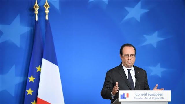 Brexit : French President Francois Hollande says UK can't cherry pick EU rules in future relationship
