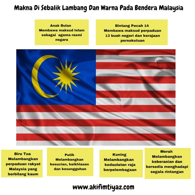 Makna Di Sebalik Lambang Dan Warna Pada Bendera Malaysia