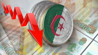 الدينار الجزائري يخسر نصف قيمته في ظرف 04 سنوات