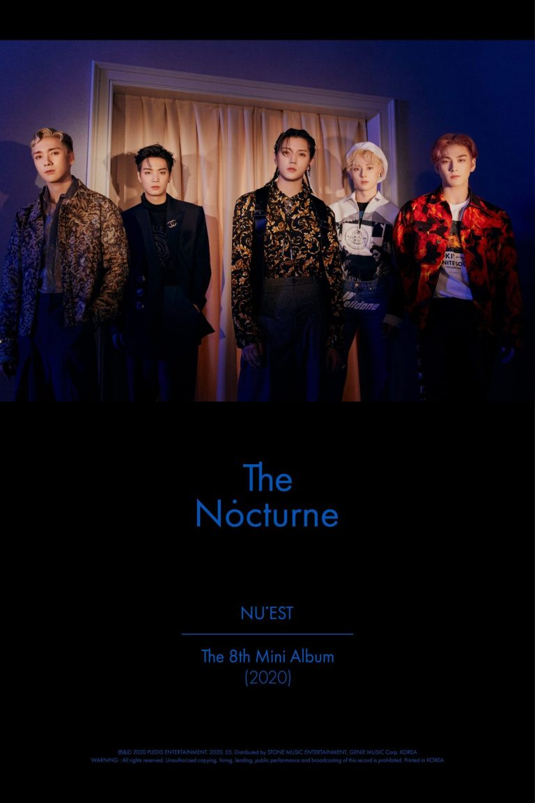 NU'EST Members Shows Melancholy Poses on 'The Nocturne' Teaser