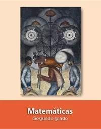 Libro de texto  Matemáticas Segundo grado 2020-2021