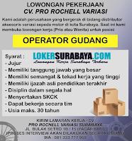 Loker Surabaya di CV. Pro Rochell Variasi Terbaru Juni 2020