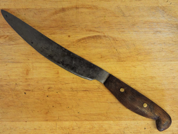 Picture of a hand made knife