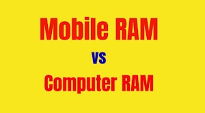Hindi me jankary - Computer RAM vs Mobile RAM