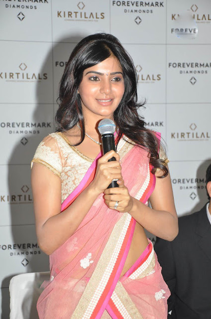 Samantha Ruth Prabhu In Saree Photo & Wallpaper