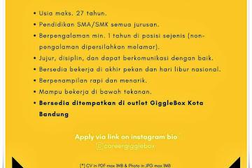 Loker Bandung Outlet Crew Giggle Box Group