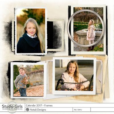 http://shop.scrapbookgraphics.com/2017-calendar-frames.html