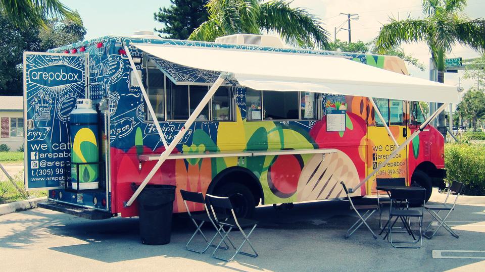 Miami Tropical Park Food Trucks