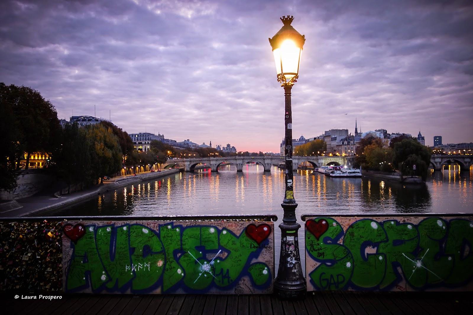 lever du jour - pont des arts 31oct14 © Laura Prospero