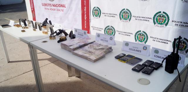 hoyennoticia.com, Incauntan en Manaure:$215 millones, armas,municiones radios de comunicación y dolares