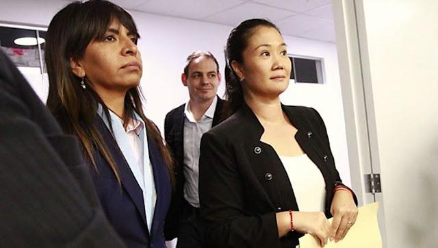 Juez de turno evaluará el próximo miércoles si se excarcela a Keiko Fujimori