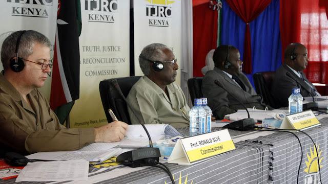 TJRC Commissioners in Mombasa