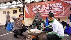 Polres, Kodim 0736/Batang dan Pemkab Siapkan Menu Berbuka Puasa Bagi Warga Terdampak Covid-19