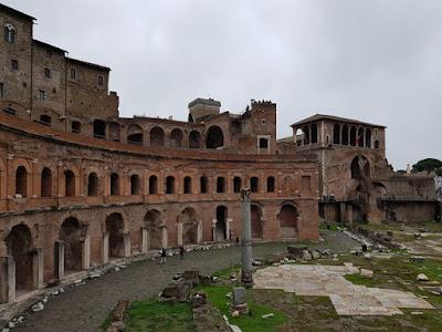 El Mercado de Trajano, en Roma