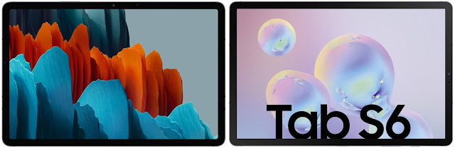 Samsung Galaxy Tab S7 128 GB vs Samsung Galaxy Tab S6 256 GB