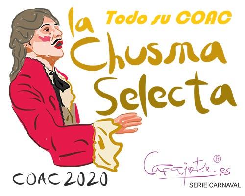 "Todo el COAC 2020 de la Comparsa ""La Chusma Selecta"". 2º Premio"