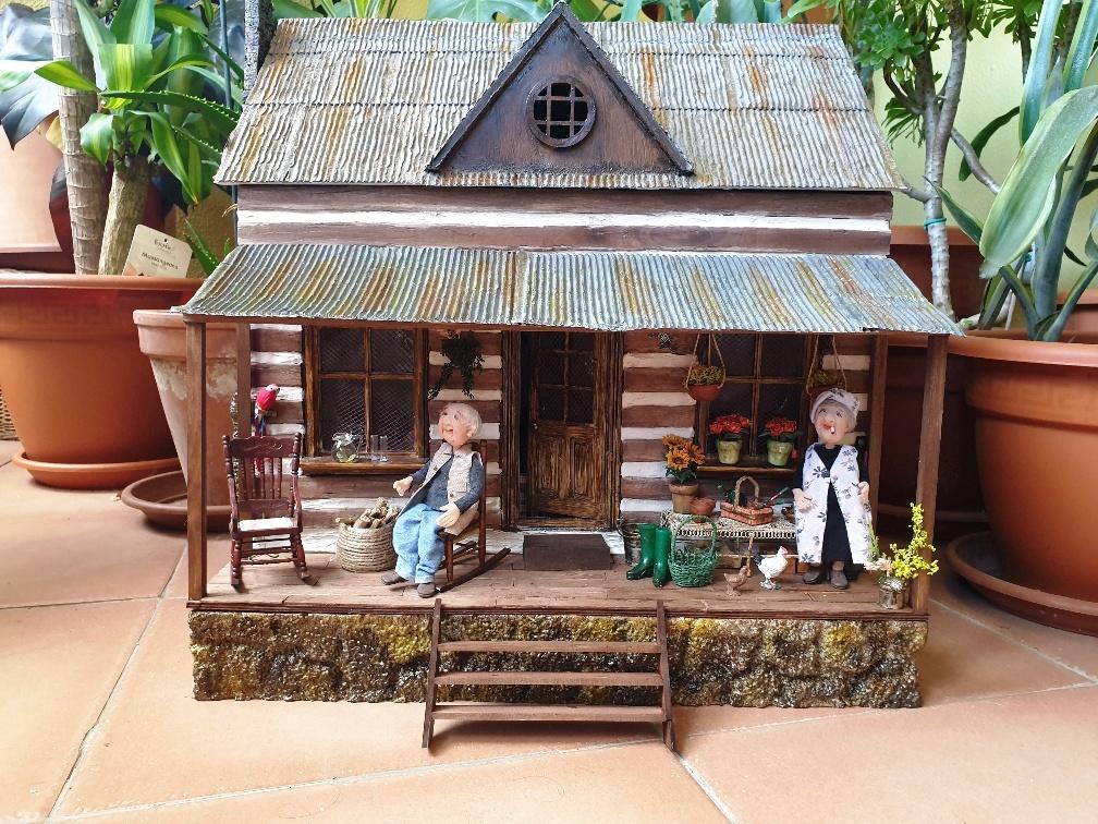 La cabaña de Manuel y Gertrudis