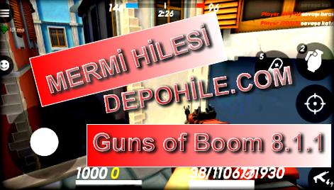 Guns of Boom Online 8.1.1 Atom Mod Mermi Hileli Apk Son Sürüm