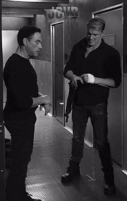 Jean-Claude Van Damme With Dolph Lundgren