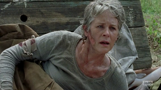 "Carol en el 7x02 ""The Well"" de 'The Walking Dead'"