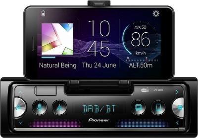 1-DIN autoradio met scherm Pioneer
