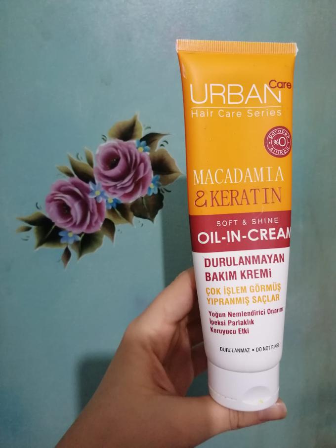 Urban Care Macadamia & Keratin Durulanmayan Saç Bakım Kremi