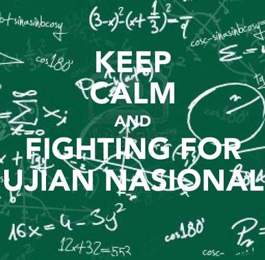 Kata Kata Motivasi Bahasa Inggris Tentang Ujian Nasional
