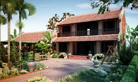 nhà vườn bất động sản