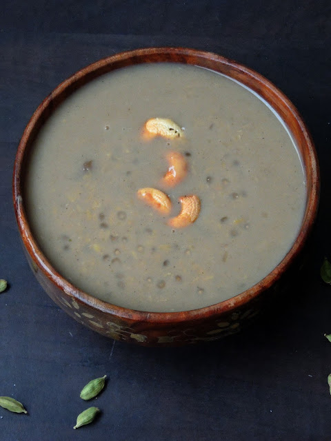 Sabudana Dal Kheer, Sago Moongdal Pudding