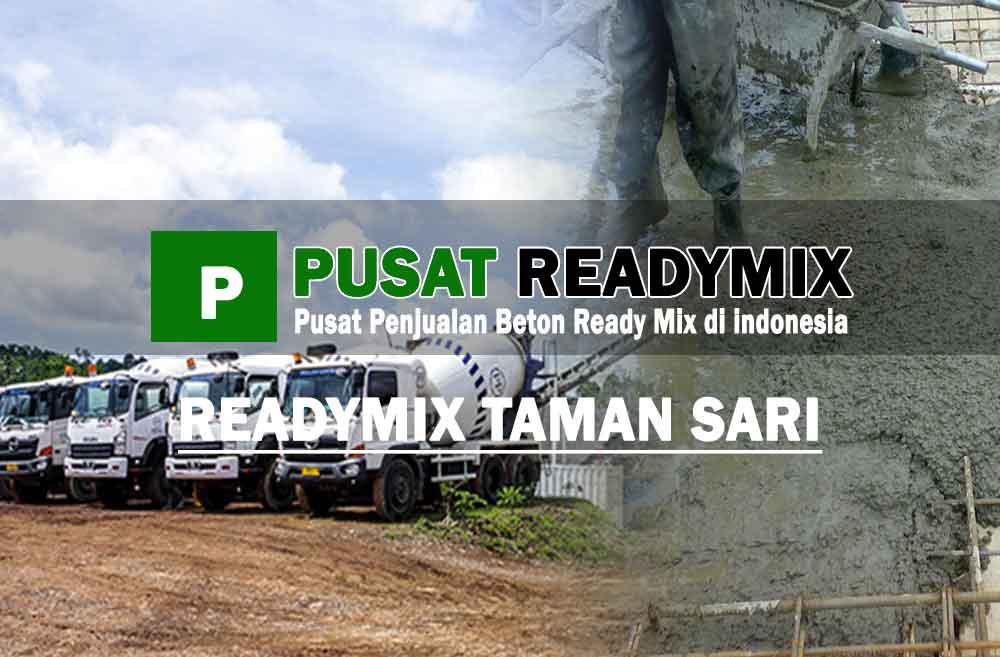 harga beton ready mix Taman Sari