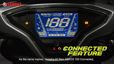 All New Aerox 155 VVA Connected